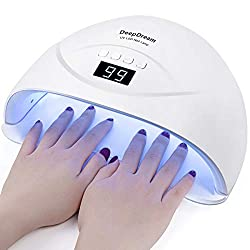 DeepDream-84w-UV-LED-Nail-Lamp-Gel-Polish-Light-Nail-Dryer-with-4-Timer Looking for the Best UV/Led Nail Lamp? We'll Spoil you with 9 Options here!