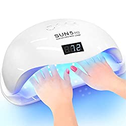 SUNUV-Sun-5-Pro-72W-Lamp Looking for the Best UV/Led Nail Lamp? We'll Spoil you with 9 Options here!