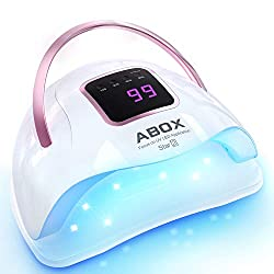 UV-LED-Nail-Lamp-ABOX-Star2-72W-Nail-Dryer-for-Gel-Nail-Polish-Fast-Curing-with-36-LED-Beads-Gel-Nail-Light-with-LCD-Display-Smart-Sensor Best UV Nail Lamp To Buy In 2021 Reviews and Buying Guide