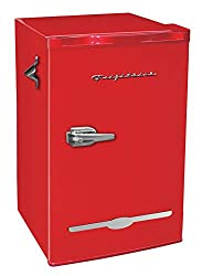Frigidaire-Retro-Bar-Fridge-Refrigerator-with-Side-Bottle-Opener-3.2-cu.-ft-Red Feeling the Heat? Here are the 10 best refrigerators under $500!