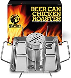 Beer-Can-Chicken-Roaster-Stand-Stainless-Steel-Holder Cook Next Level Chicken with the Best Beer Can Chicken Holder Now!