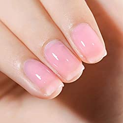 Fanzest-Sheer-Pink-Gel-Nail-Polish Want to be the Queen of every Occasion? How about a Clear Nail Polish!