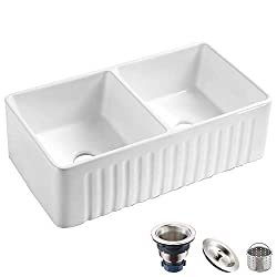 Koozzo-33-Inch-Farmhouse-Ceramic-Kitchen-Sink Make every evening come to life with these 10 Best Outdoor Kitchen Sinks