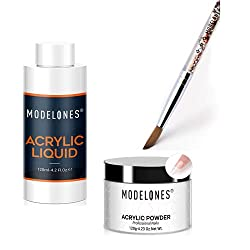 Modelones-4.23oz-Clear-Nail-Acrylic-Powder-Professional-Nail-Art-Powder-for-Nail-Extension-French-Nails Unleash Creativity on your Nails with these 19 Best Acrylic Powders Now