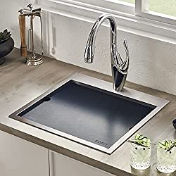 Ruvati-Outdoor-BBQ-Workstation-Sink-RVQ5215 Make every evening come to life with these 10 Best Outdoor Kitchen Sinks