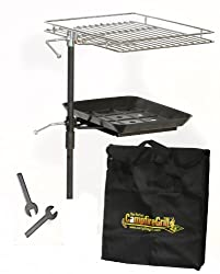 The-Perfect-Campfire-Grill-18-Inch-Round-Grill-Grate Want to Savor a Meal like never before? This Campfire Tripod will do it!