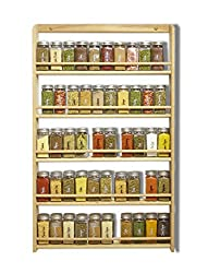 Acrylic-Spice-Rack-Wall-Mount-Organizer Organize your Kitchen like a Legend with these Best Spice Racks Now!