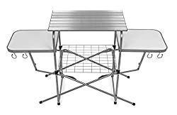Camco-Deluxe-Outdoor-Grill-Prep-Table 6 Best Outdoor Prep Table List to take your Barbecuing to the Next Level