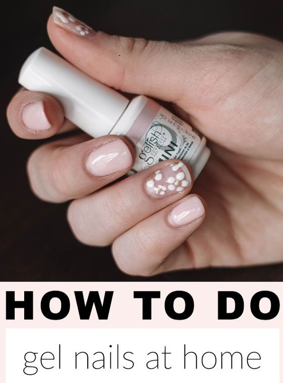 How To Do Gel Nails AT HOME bestbuyereviews