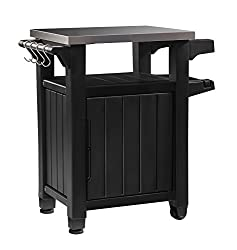 Keter-Unity 6 Best Outdoor Prep Table List to take your Barbecuing to the Next Level