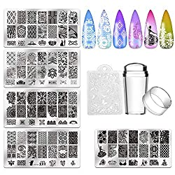 Mcwdoit-Nail-Art-Stamping-Kit Create Breathtaking Nail Art with these 9 Best Nail Stampers Now