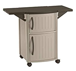 Suncast-BBQ-Prep-Table 6 Best Outdoor Prep Table List to take your Barbecuing to the Next Level