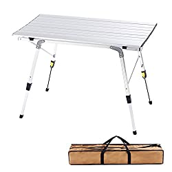 The-CampLand-Aluminum-Outdoor-Prep-Station 6 Best Outdoor Prep Table List to take your Barbecuing to the Next Level